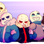 UNDERTALE AU's AND OC's picture