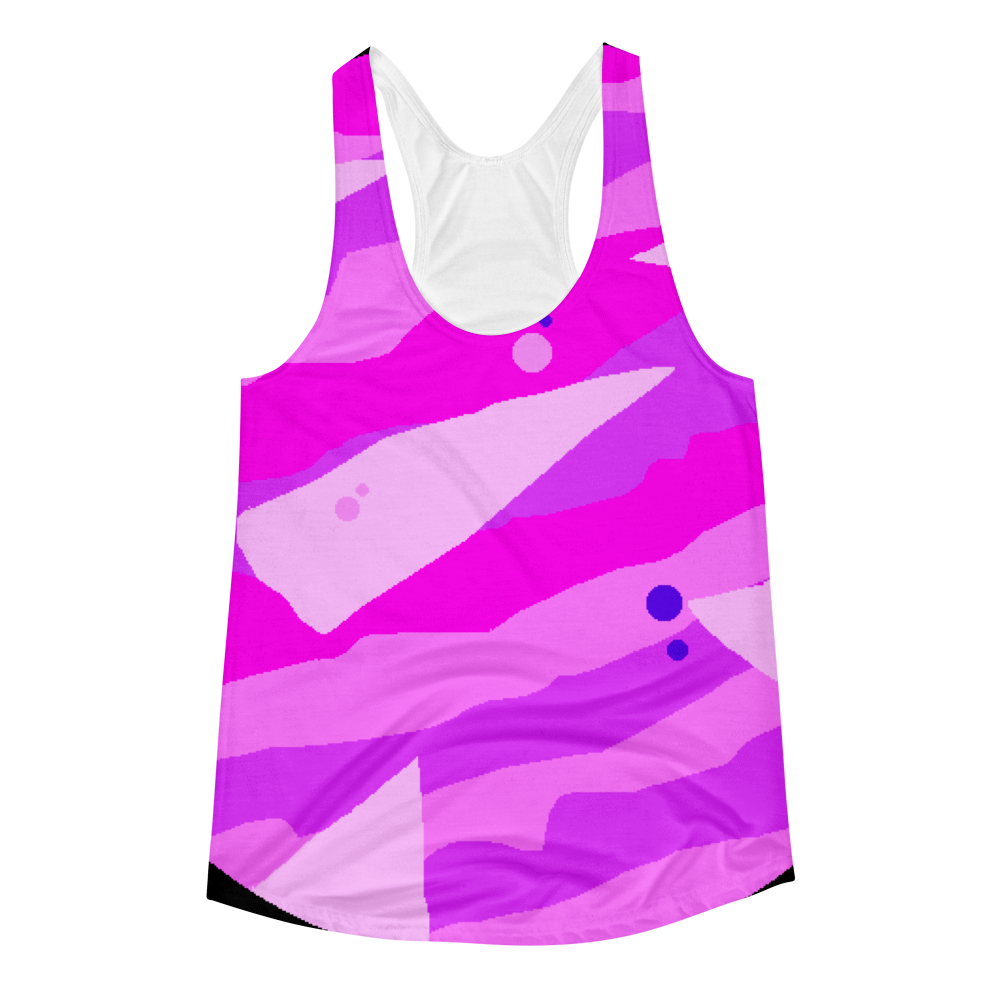 Women's LA Apparel Sublimation Racerback Tank