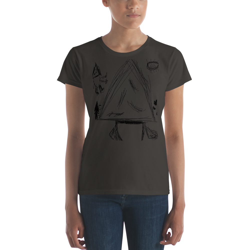 Women's Anvil Ringspun Fashion Fit T-Shirt