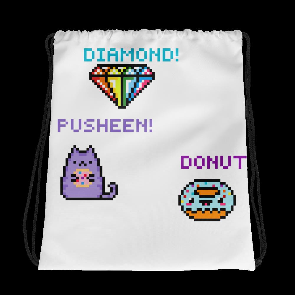 All-Over Drawstring Bag