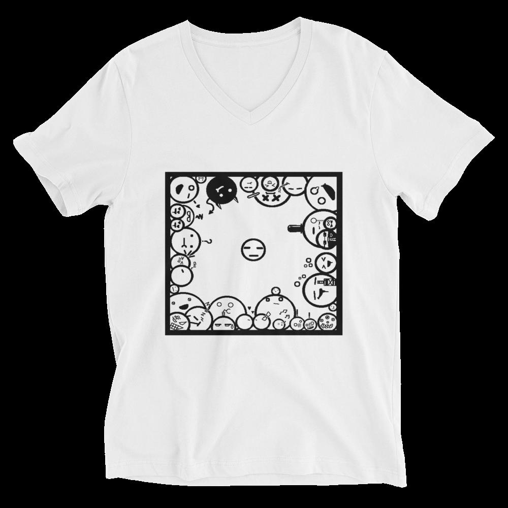 Unisex Bella + Canvas Short Sleeve V-Neck Jersey Tee