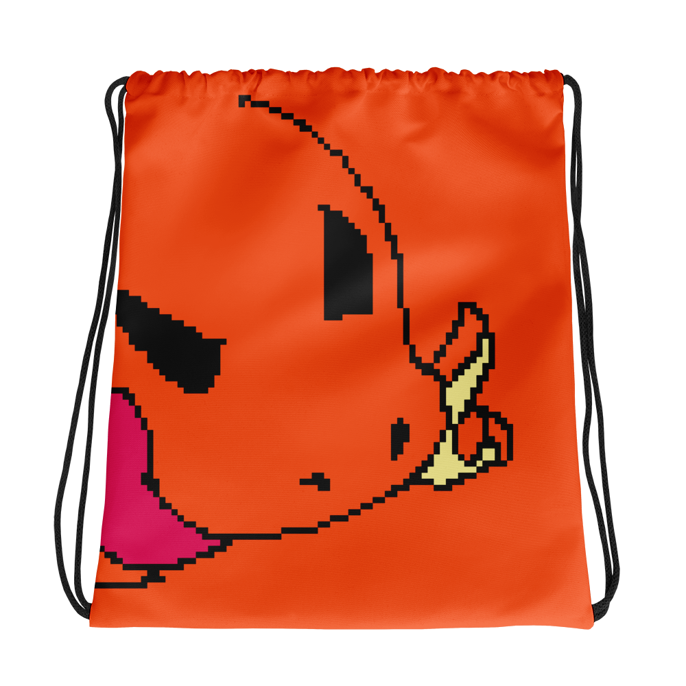 All-Over Drawstring Bag