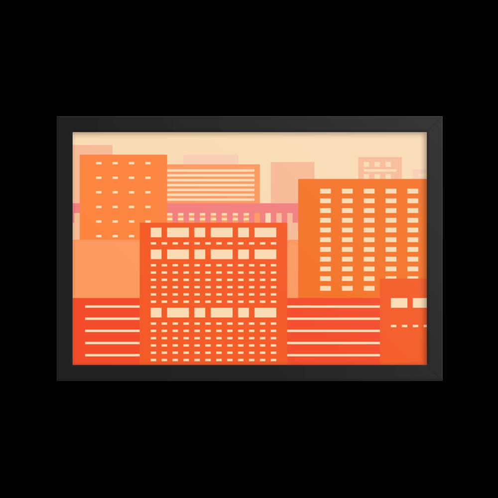 Enhanced Matte Paper Framed Poster