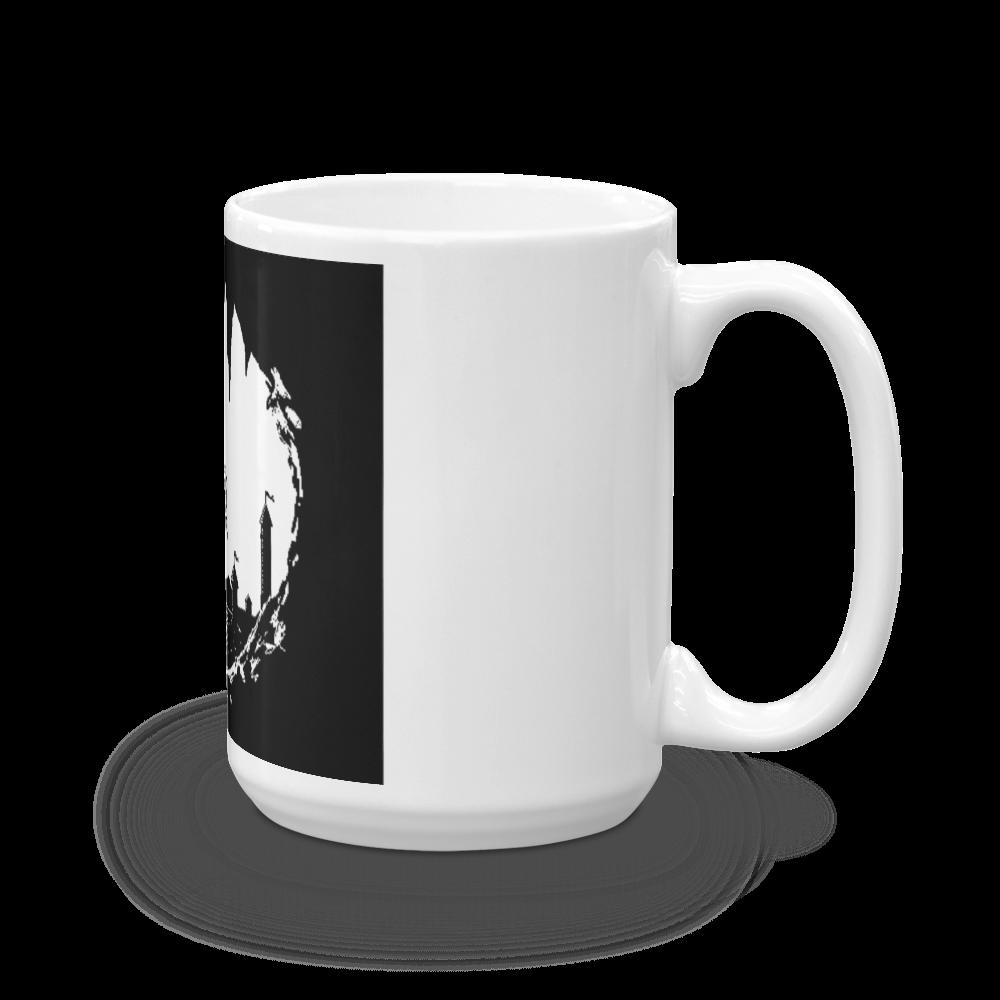 White Glossy Mug Made in the USA