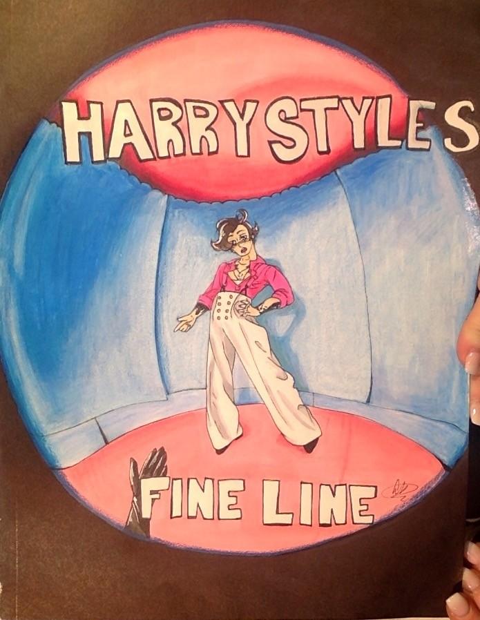 Pixilart Fine Line Fan Art Uploaded By Wolfieartdrawz