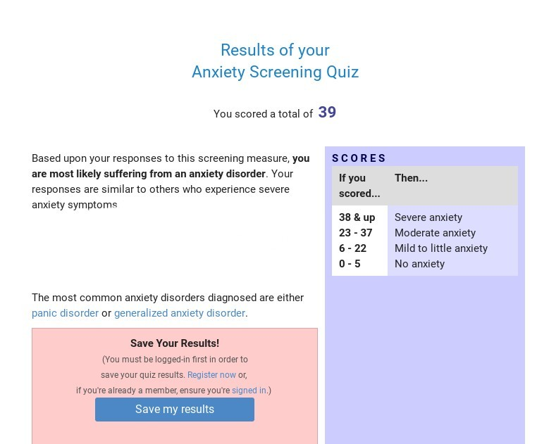Pixilart Mental Health Quiz 2 Anxiety Uploaded By