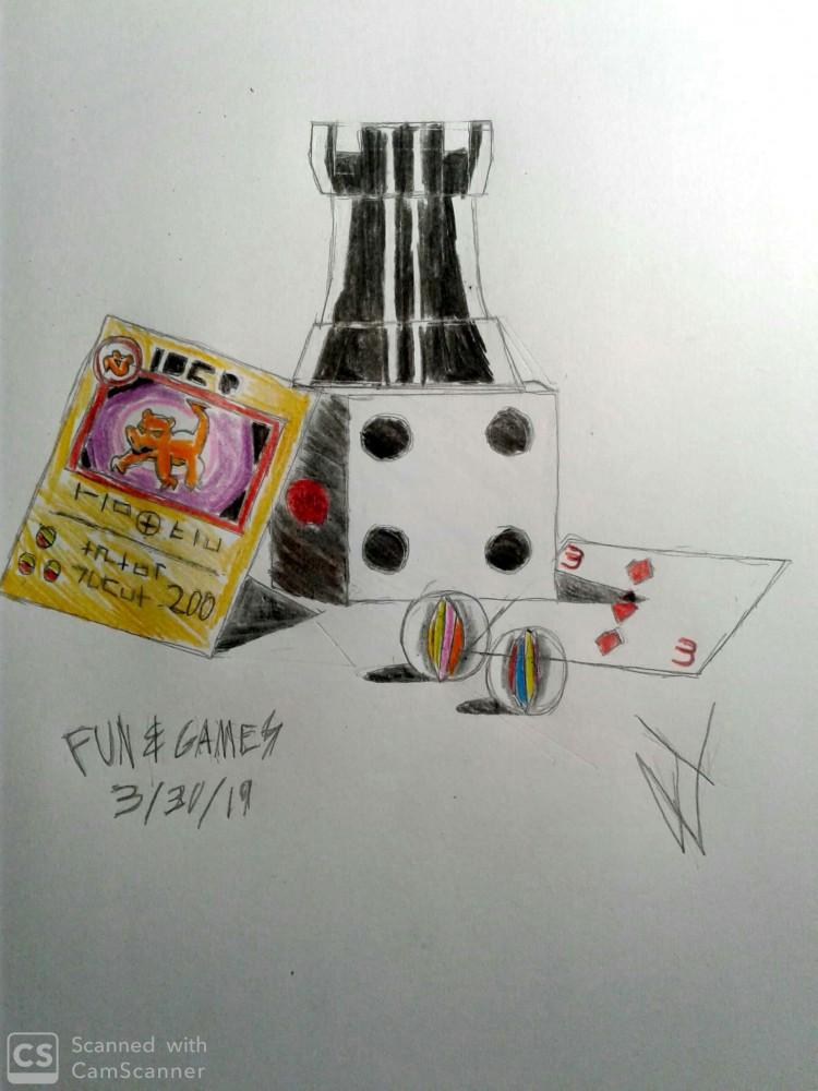 Fun & Games by JesseIART