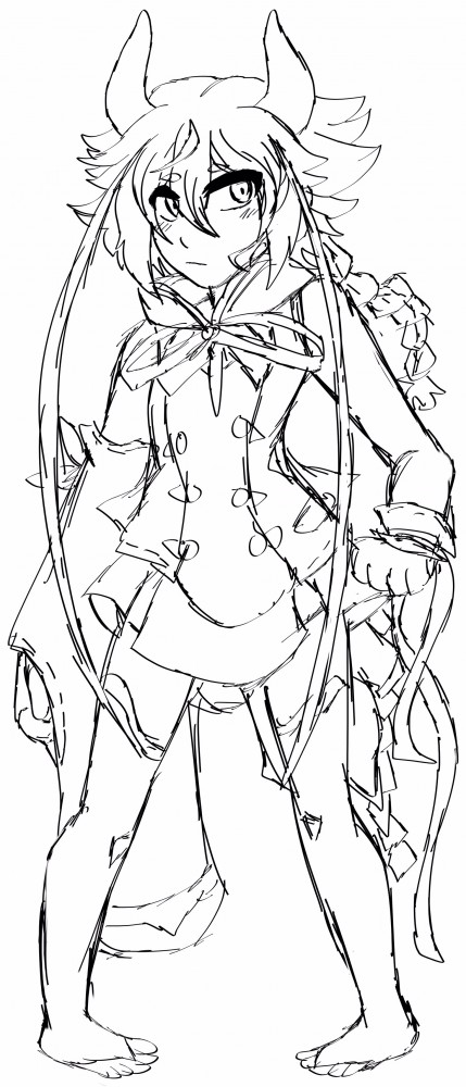 main-image-Meika Mikoto Sketch uploaded by ronny-boi