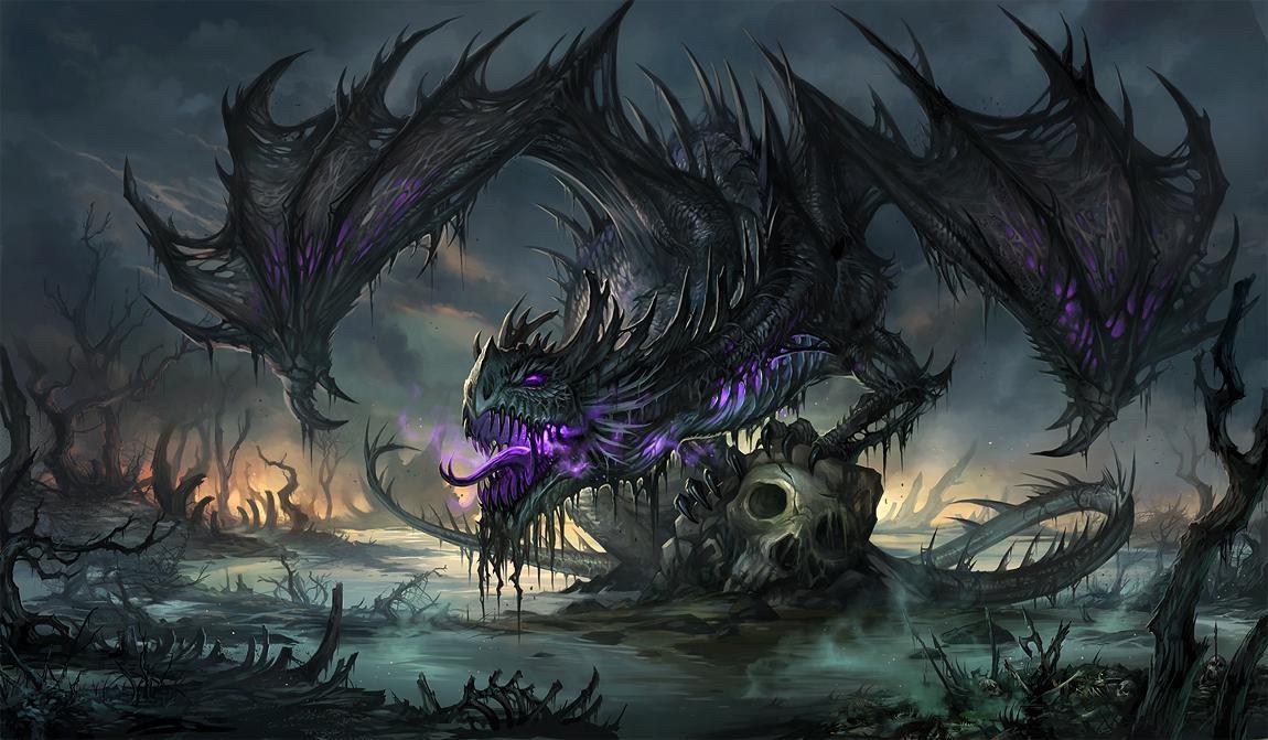 Poison Dragon by Wet4Senpai