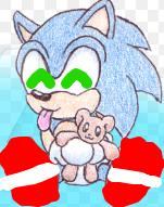 Baby Sonic so cute :3 by Mariosonic1232