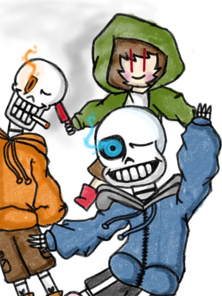 BAD TIME TRIO! by The-raccat