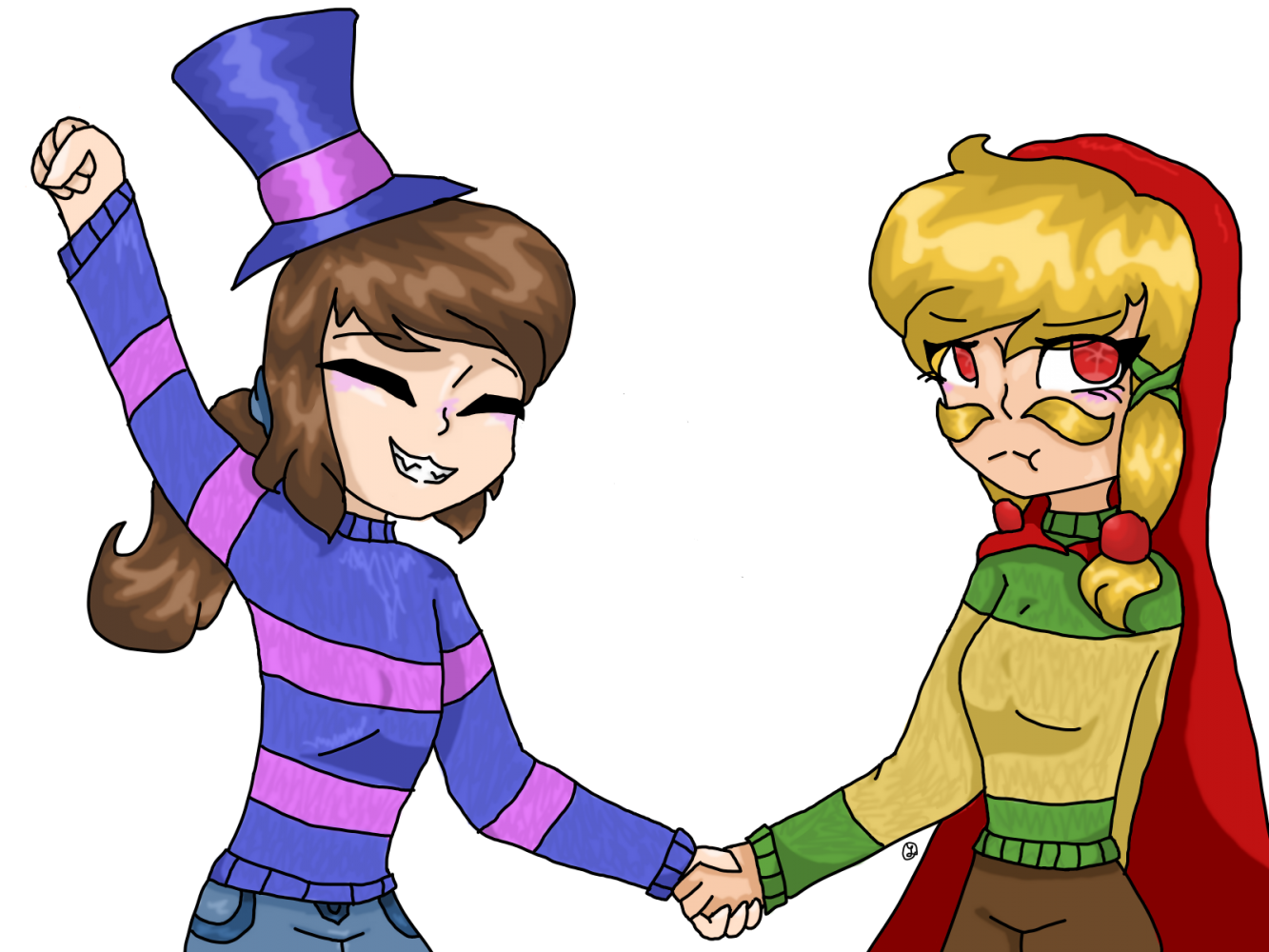 A crossover by WonderCat