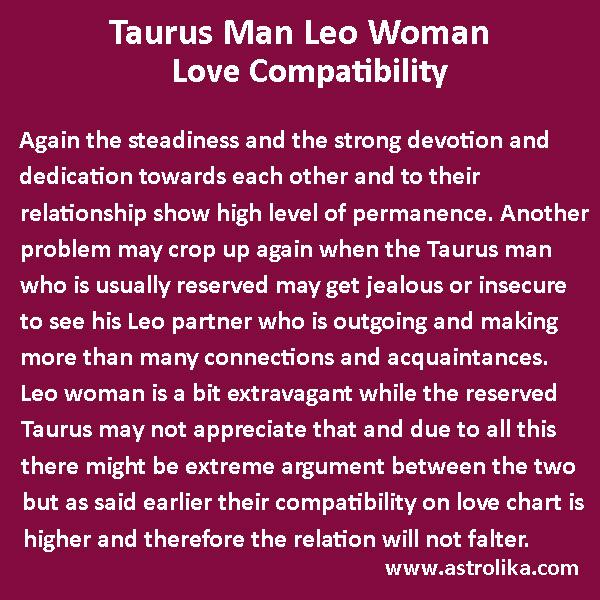 Love Match for Taurus