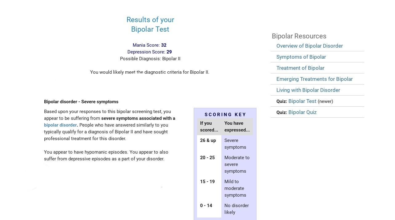 Pixilart Mental Health Quiz 1 Bipolar Uploaded By