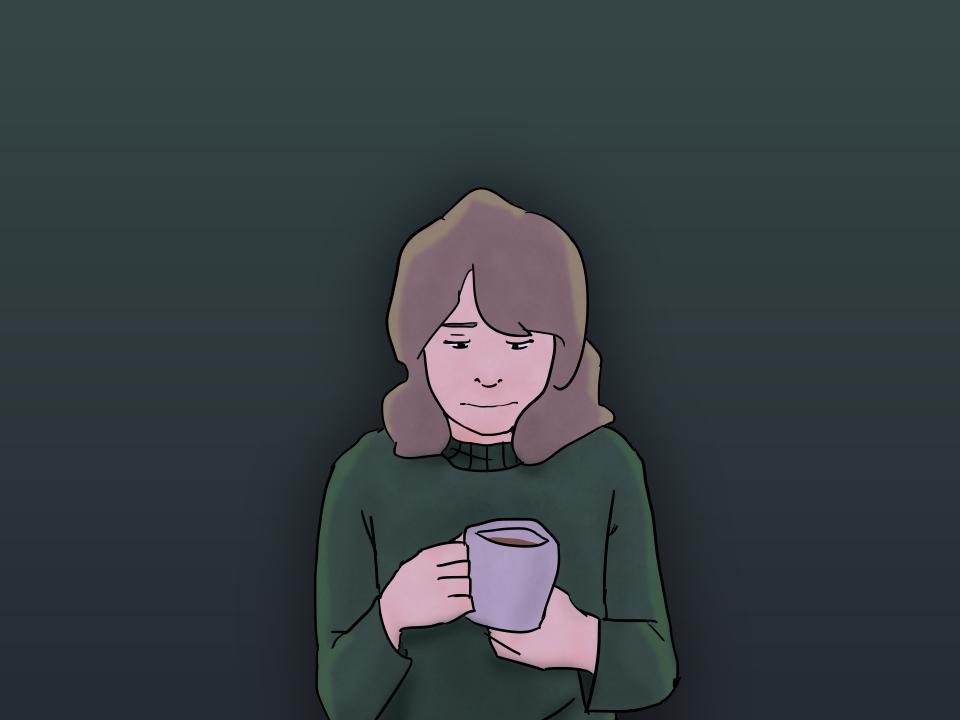 my teas gone cold im wondering why  by ckckg