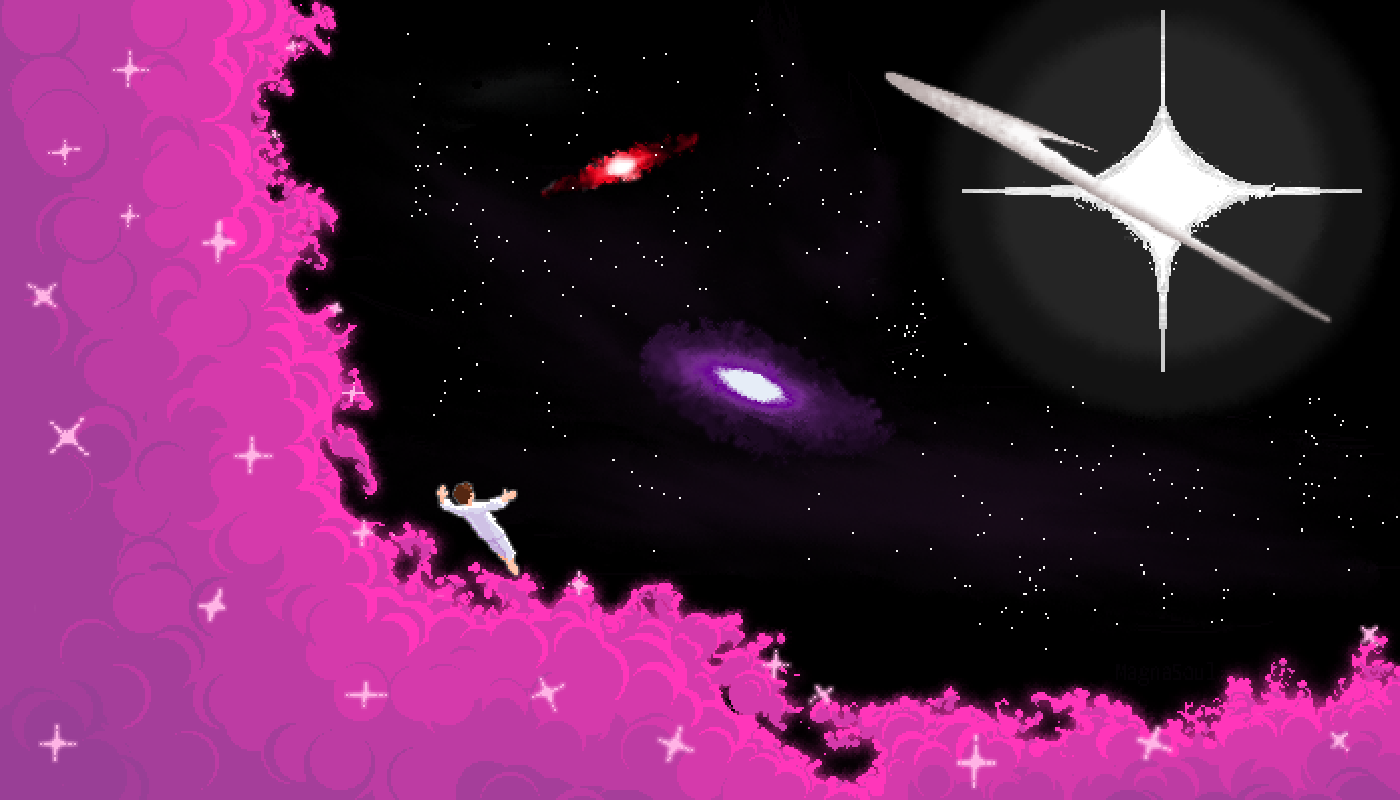 Into the Cosmos (Bigger) by MagnaSoul
