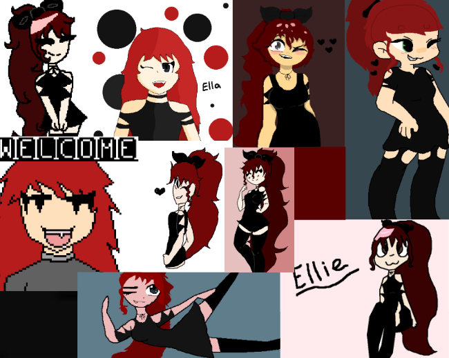 ♥️(Most of) All Ellies!♥️ by Only-Ella