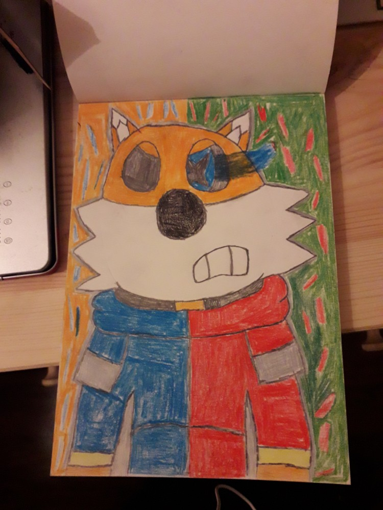 main-image-A drawing from 5th grade uploaded by SuperKirby