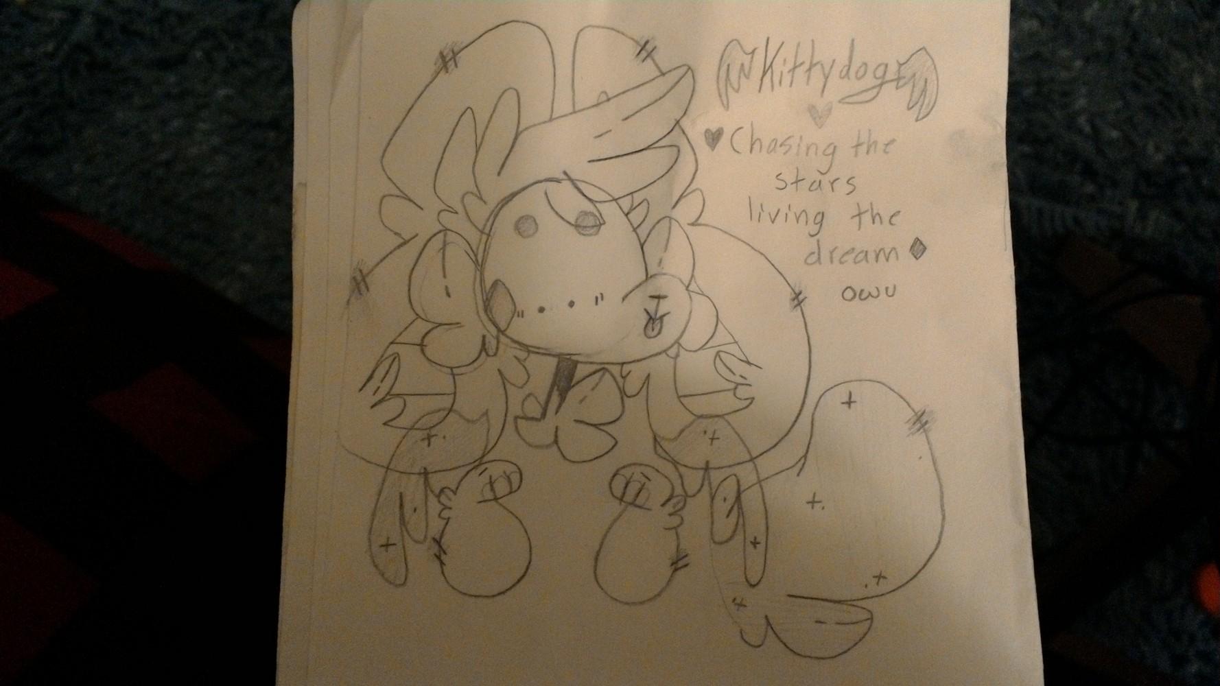 Kittydog doodle by Art-Armadillo