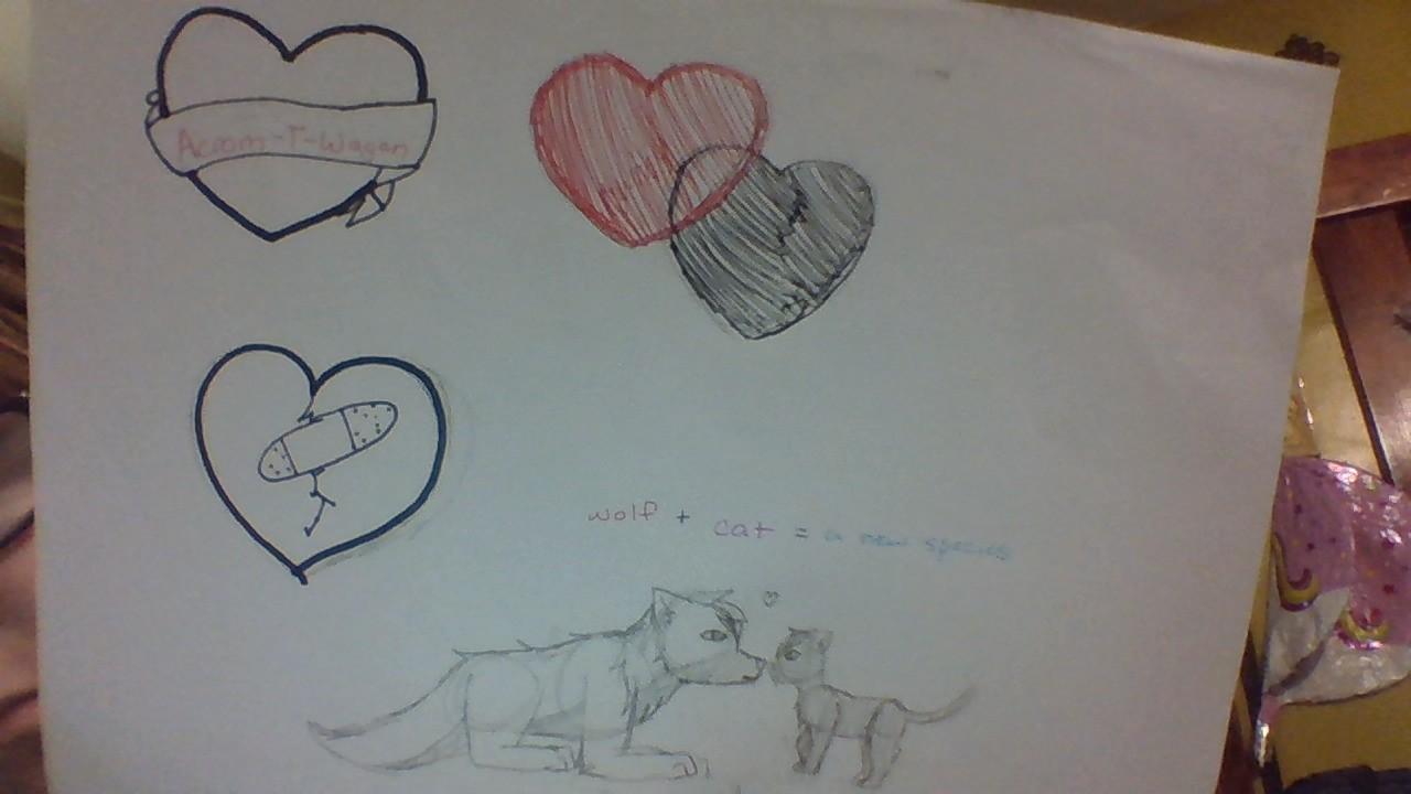 Real drawings by KawaiiKitty57