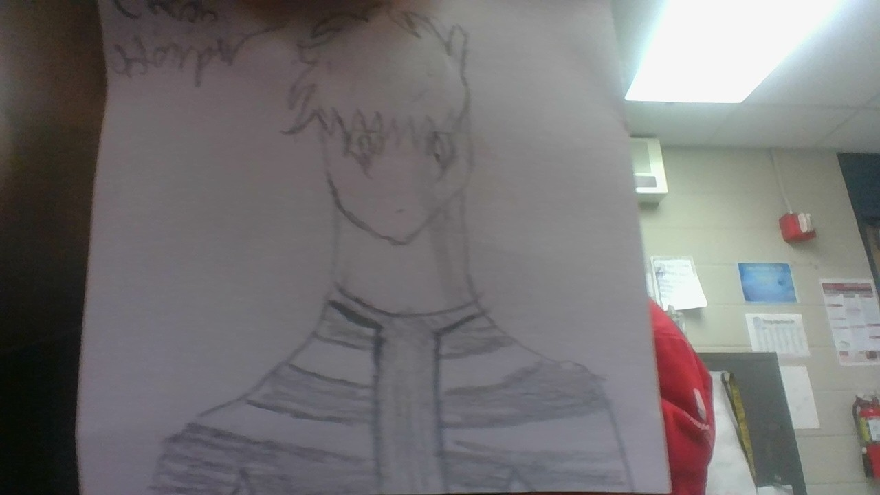 i got bored and drew a thicc neck by never-real