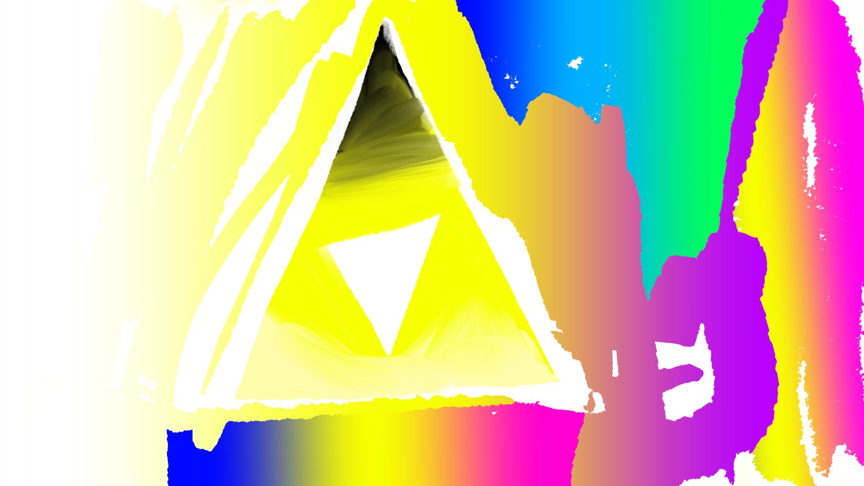 Rainbow Triforce by ArtLoverIris