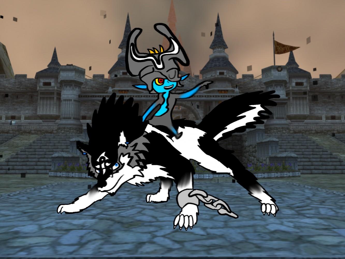 Wolf link by Sammygamer