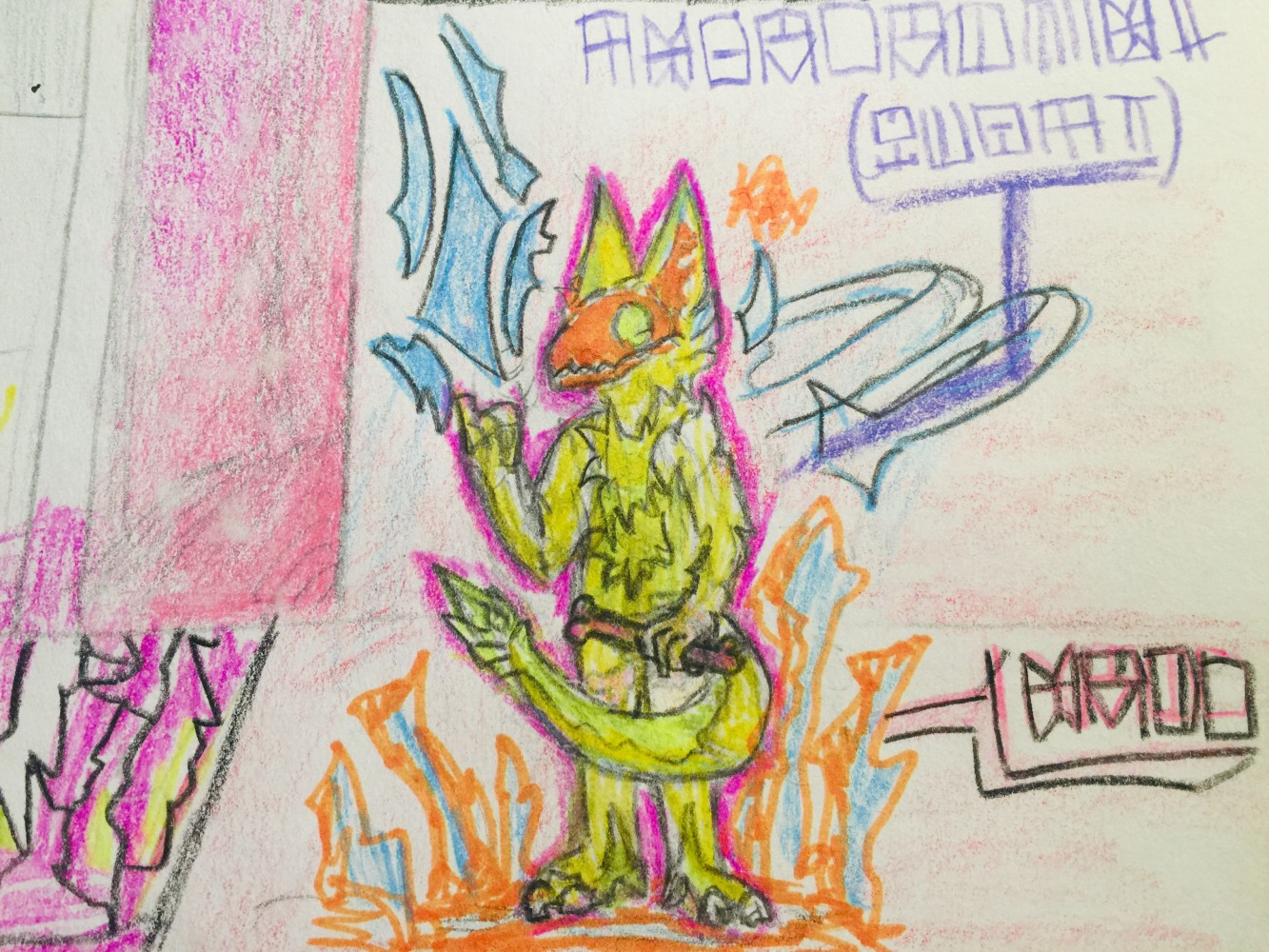 marker mess boi by roboboredom
