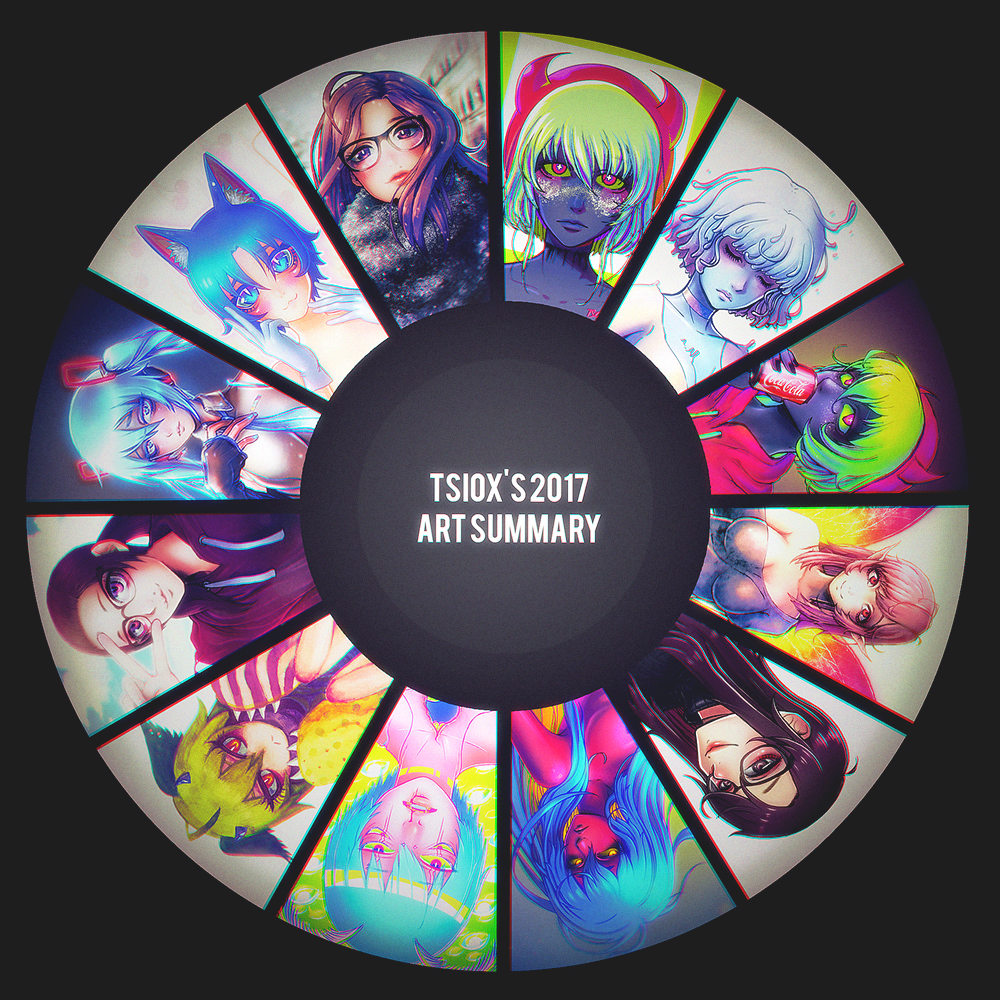 Tsiox's Art Summary 2017 by Tsiox