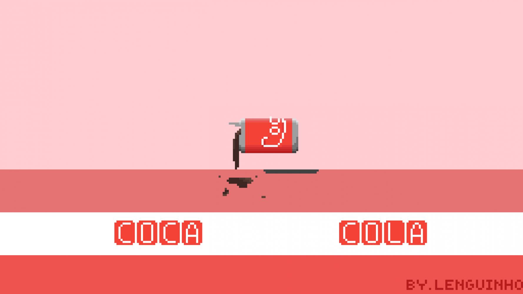coca-cola by Lenguinho