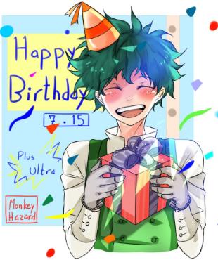 main-image-Deku Birthday!! uploaded by WorstArtistEver