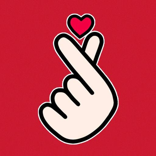 Самый, картинки пальцами сердечко