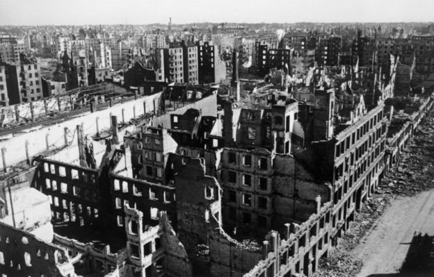 Rotterdam Bombing Aftermath by Red-Baron