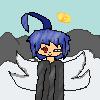 the angel with one red eye!!!! by darkshadyliesXx