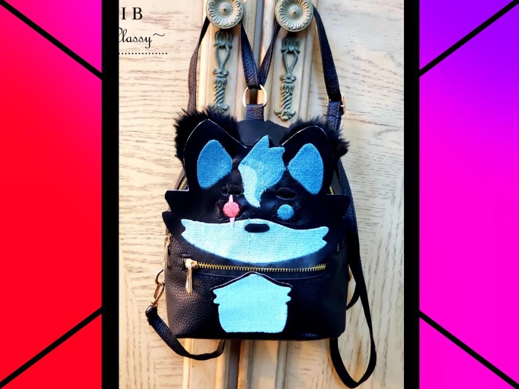 Custom Furry Pride Backpack! by CaptinMangletty