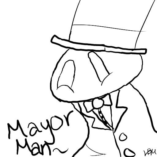 Mayor Man by LegoBlockModel