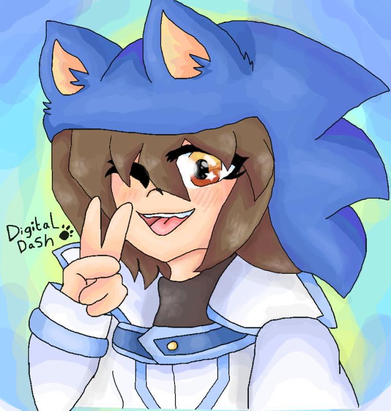 Sonic style! by DigitalDash