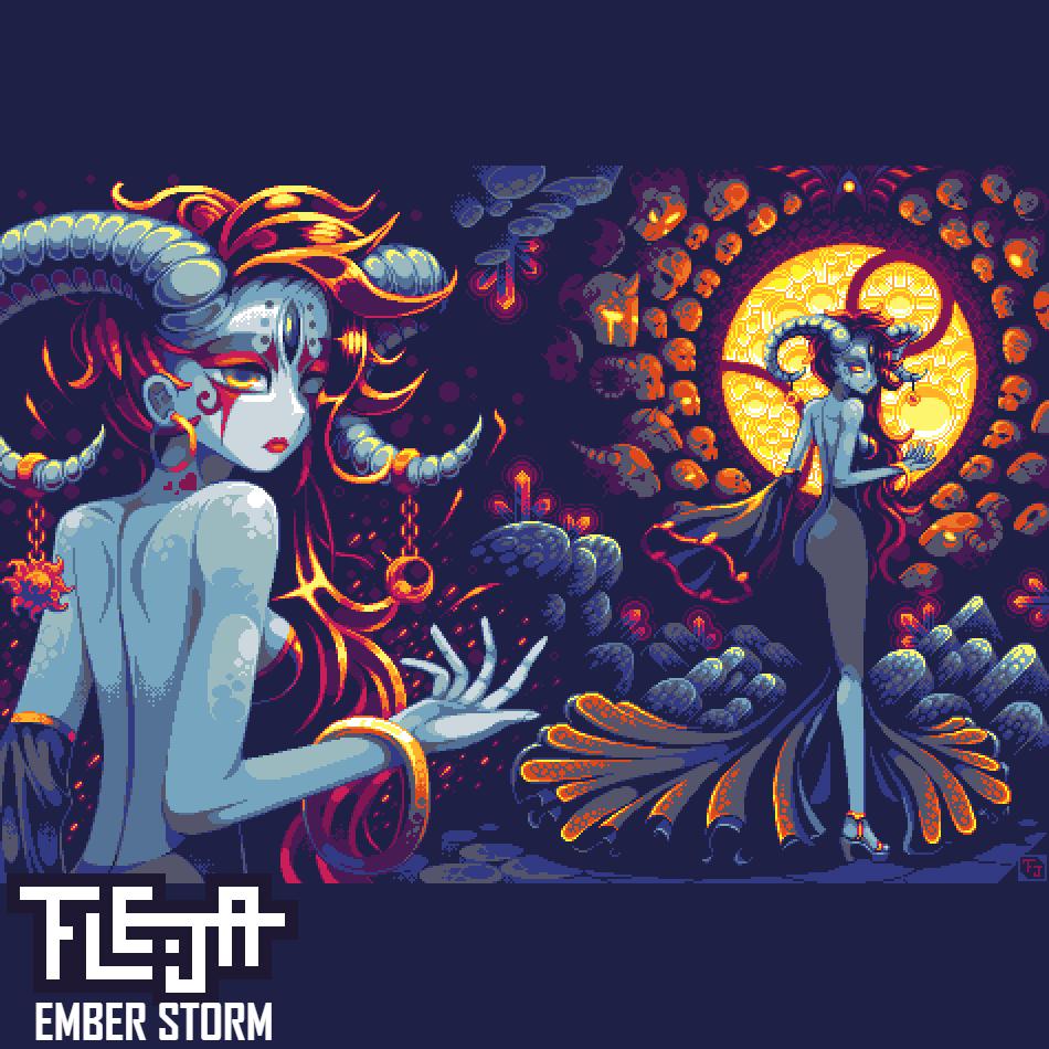 Fleja's Album Art by StrangeFox