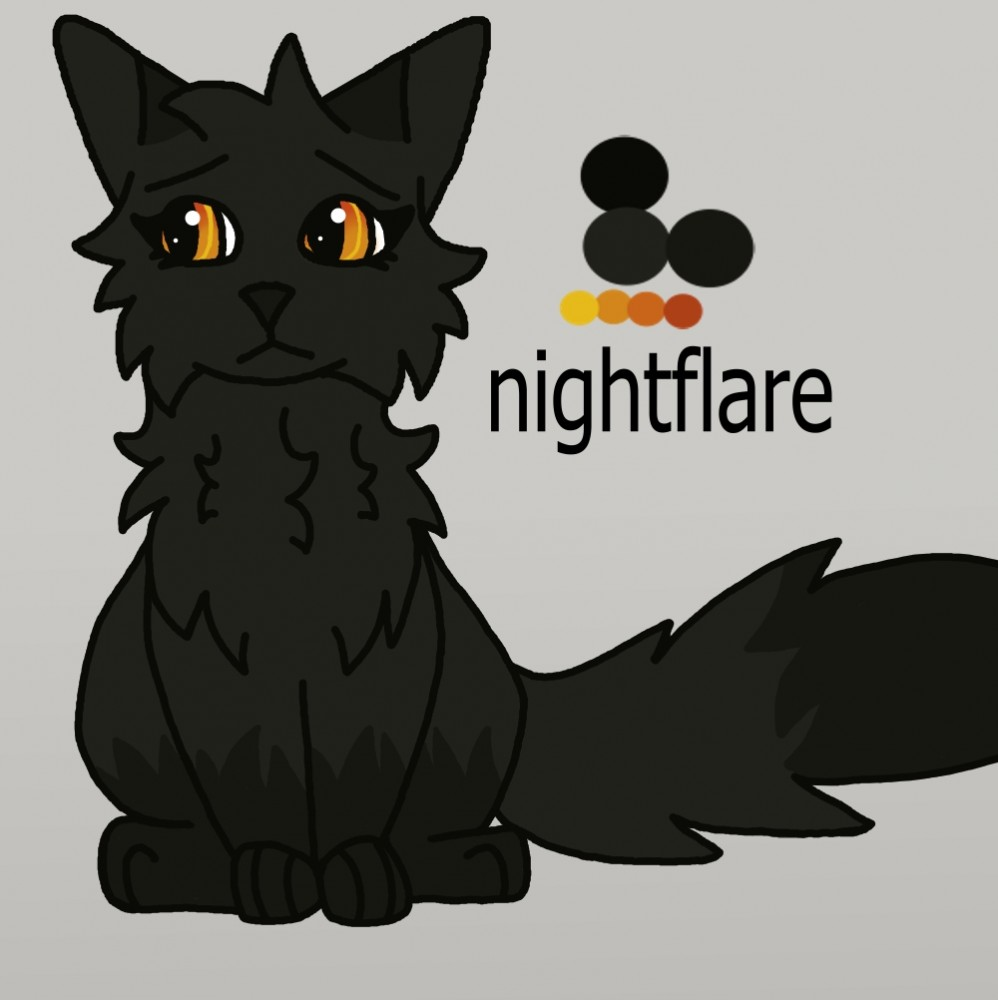 nightflare  by larksong54