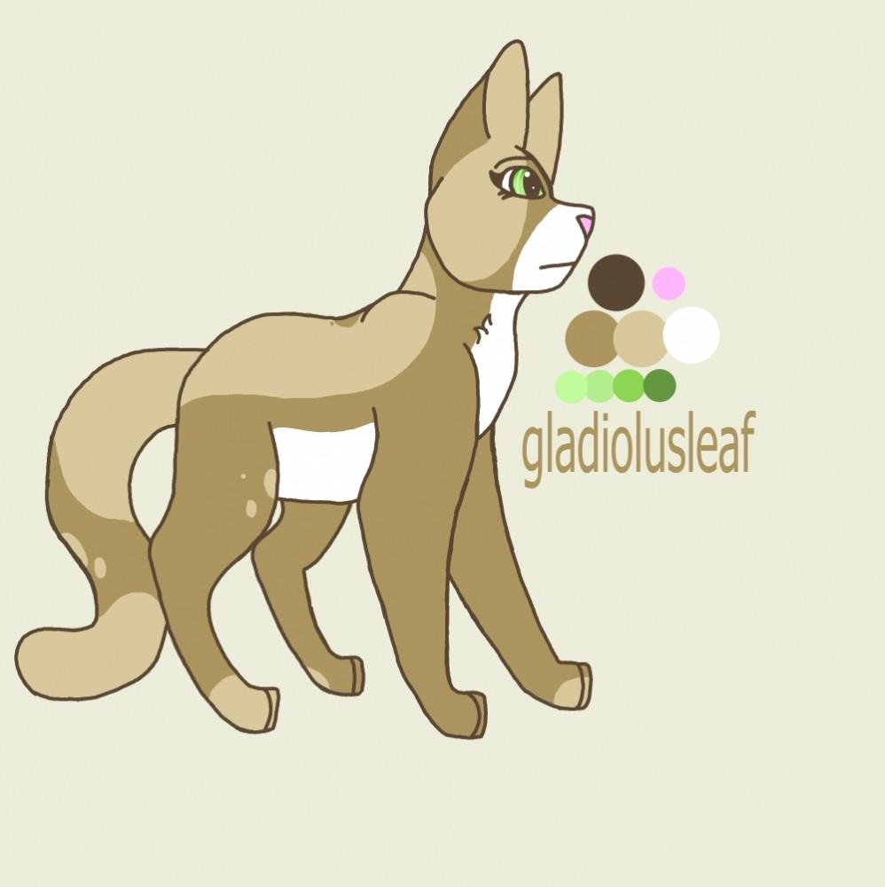 gladiolusleaf by larksong54