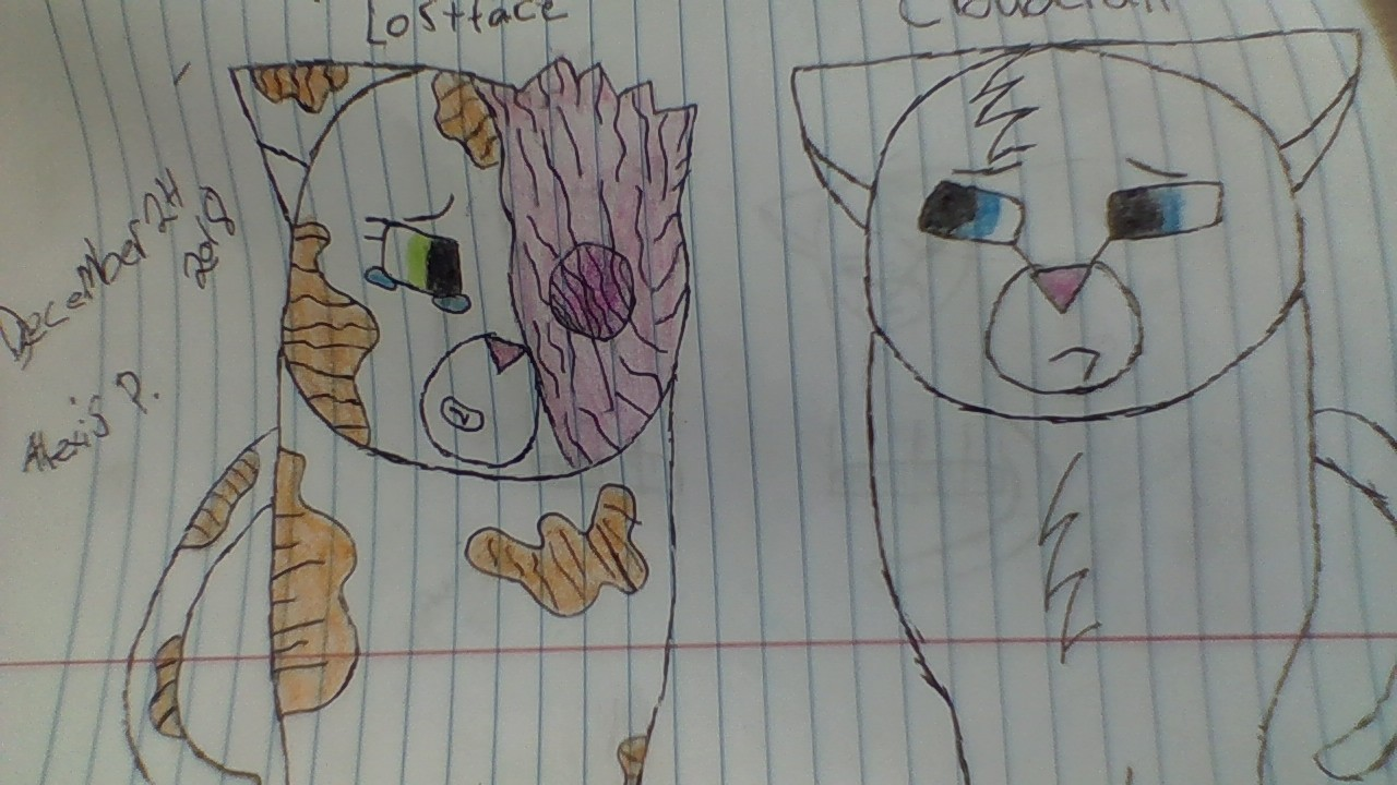 Brightheart x Cloudtail by Mudclaw5454