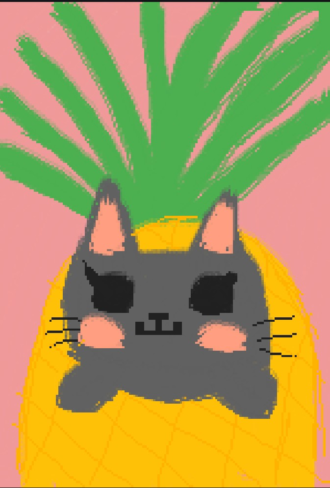 main-image-Pineapple Cat uploaded by AlexisWolfChan