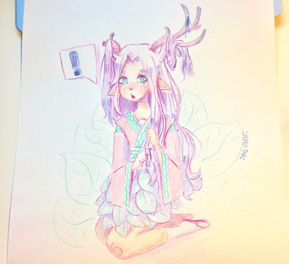 Here's some traditional art by Fizzulu