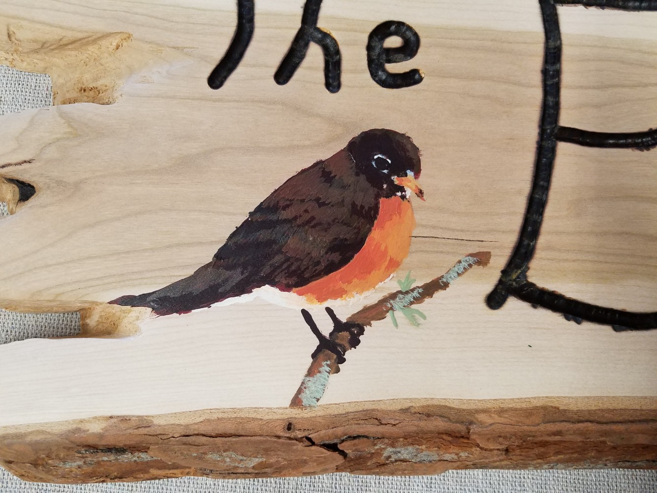 Painted bird by Kido