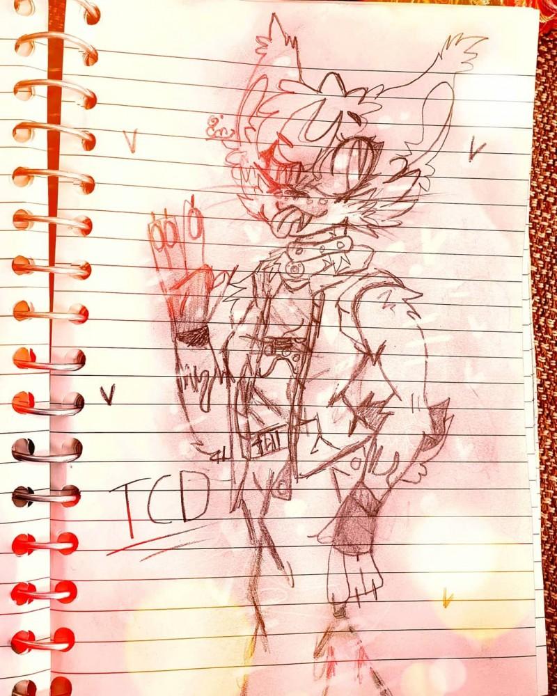 TCD sketch  by CaptinMangletty