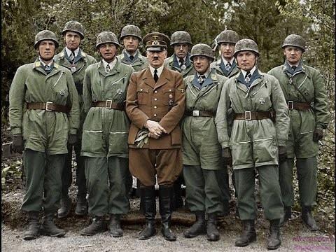 Hitler with German Fallschirmjäger by Red-Baron