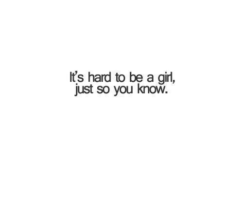 Pixilart   It's hard being a girl. by Darkqueensans