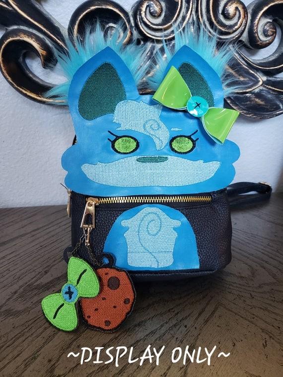 Cute Costom Fursona Backpack!  by CaptinMangletty