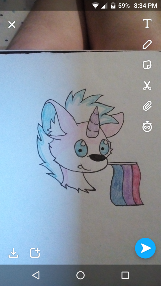 main-image-Drawing #3 for pride month  uploaded by Demon-Goth-Boy