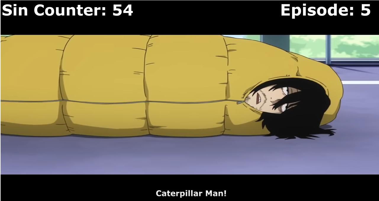 Caterpillar Man by Pixel-Fazzy